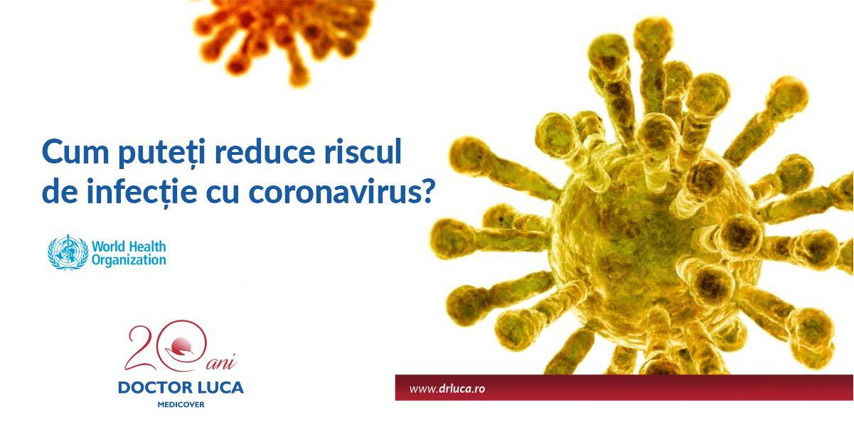 Cum puteți reduce riscul de infecție cu coronavirus?